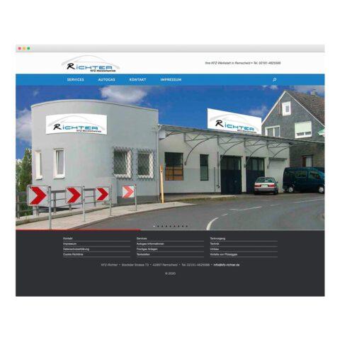 Webseite KFZ-Richter