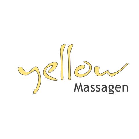 Logo Yellow Massagen